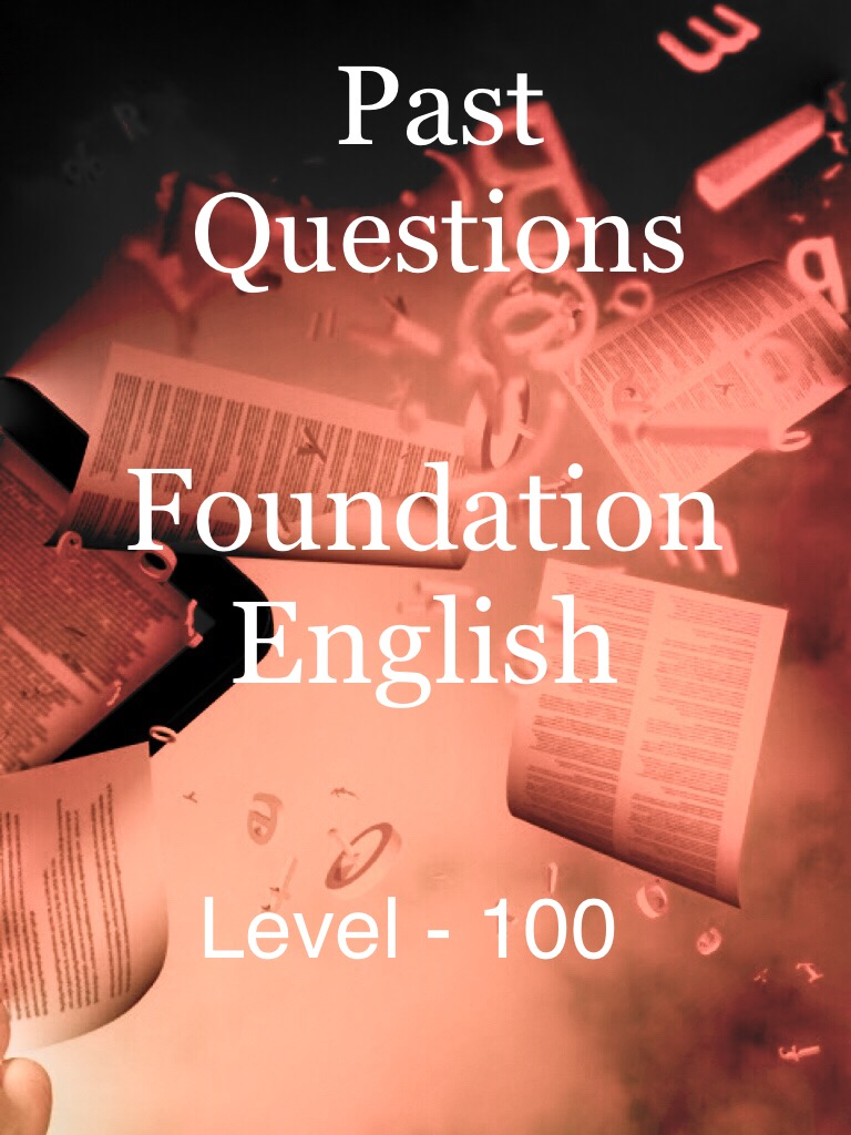 Foundation English - Level 100