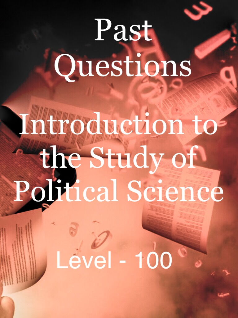 Introduction to the Study of Political Science