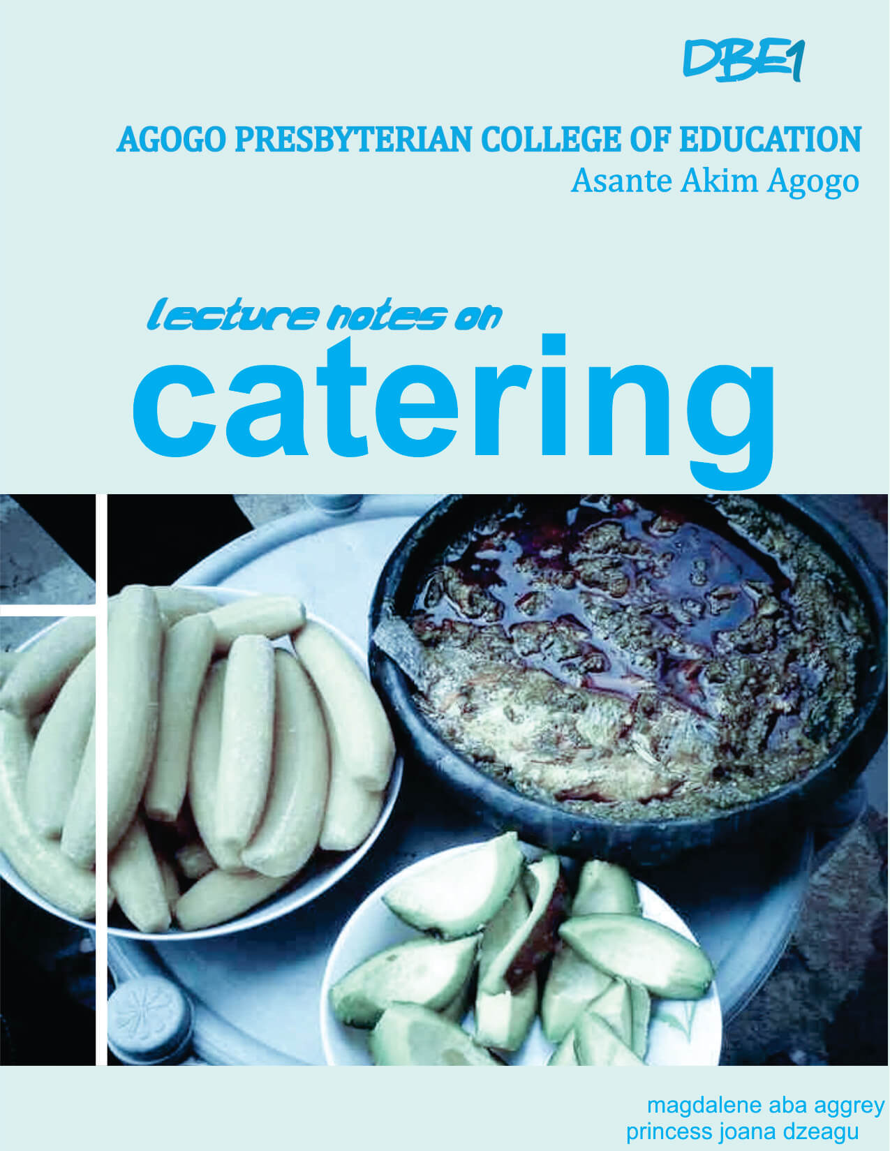 Lecture Notes on Catering